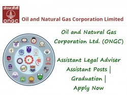 Oil And Natural Gas Corporation Ltd Ongc Assistant Legal