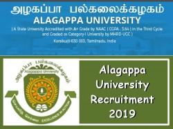 Alagappa University Recruitment 2019 Technical Assistant Post