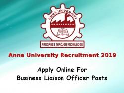 Anna University Recruitment 2019 Apply Online 01 Business