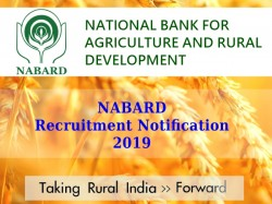 Nabard Recruitment Notification 2019 Grade A And Grade B O