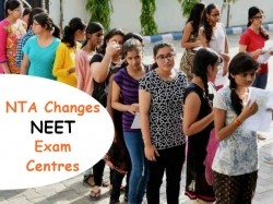 Nta Changes Neet Exam Centres Days Before The Test Issues F