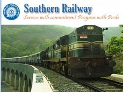 Southern Railway Recruitment 2019 Apply Online 142 Job Vacancies