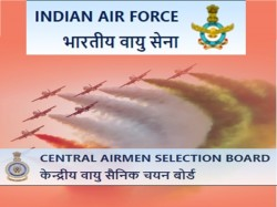 Indian Air Force Recruitment 2019 Post Of Airmen Groups X