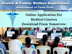 Online Application For Medical Courses Download From Tomorrow