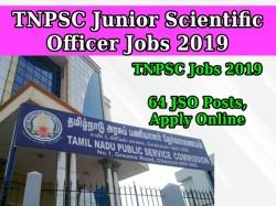 Tnpsc Junior Scientific Officer Jobs 2019 64 Jso Posts Apply Online