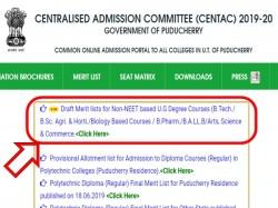 Centac Releases Draft Merit List For Admission