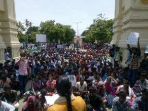 High Court Banned Neet Protest