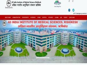 Aiims Rishikesh Invites Online Applications Recruitment Post Of Asst Professor