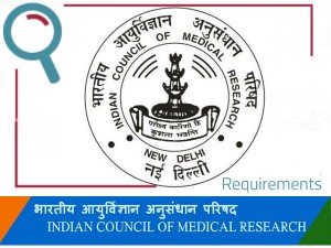 Applications Are Invited For The Post Of Scientist Icmr