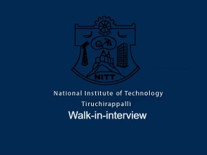 Trichy Nit Invites Application For Data Entry Operator Accountant Trainees Post