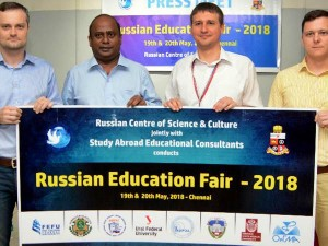 Russian Education Fair Be Held Chennai On May 19 20