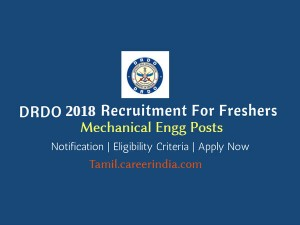 Drdo Invites Application For Various Post