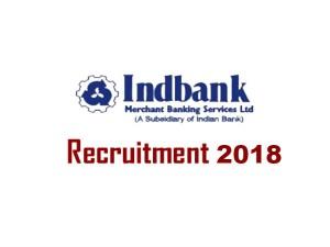 Indbank Bank Invites Application Various Post