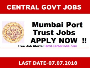 Mumbai Port Invites Application For Various Post