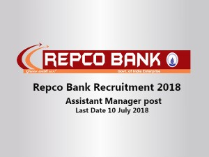 Repco Bank Invites Application For Various Post