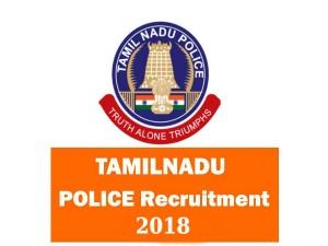 Tamilnadu Police Invites Application For Various Post