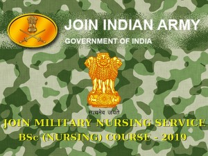 Military Nursing Service 2019 Apply Online B Sc Nursing Course