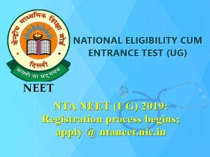Neet Application Form 2019 Registration Last Date November 30