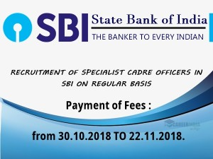 Sbi Specialist Officers Recruitment 37 Specialist Cadre Offi