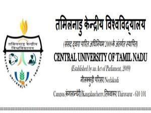 Central University Tamil Nadu Recruitment 2018 Apply Online