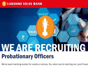Lakshmi Vilas Bank Po Recruitment 2018 Apply Now