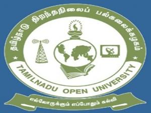 Tamil Nadu Open University Chennai Admission Phd Programmes