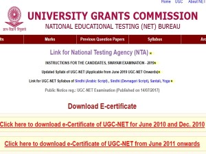 Ugc Net 2019 Nta Conduct Exam June Registration From March