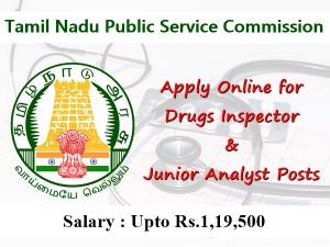 Tnpsc Recruitment 2019 Apply Online For 49 Drugs Inspector