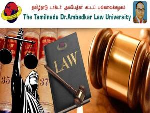 Tndalu Tamil Nadu Dr Ambedkar Law University Admission 2019