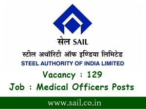 Sail Recruitment 2019 For 129 Medical Officers Posts