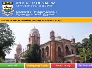 Madras University Releases Ug Pg Revaluation Results 2019