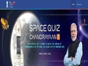 Isro Quiz Could Get You To Watch Chandrayaan 2 Moon Landing With Pm Modi