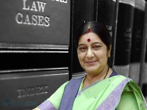 Sushma Swaraj S Educational Background From A Double Bachel