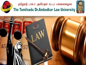 Tamil Nadu Dr Ambedkar Law University Llb Counselling To Begin On Sep 03