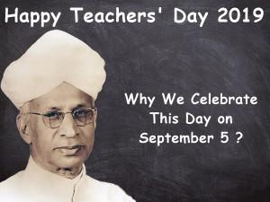 Why Celebrate Dr Radhakrishnan S Birthday As Teachers Day