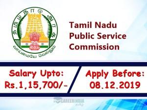 Tnpsc Recruitment 2019 Apply Online For Assistant Section Officer Post