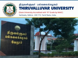 Thiruvalluvar University Recruitment 2019 Apply Online For Professor Assistant Professor