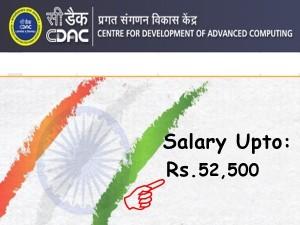 Cdac Recruitment 2020 Apply Online For Project Associate Post