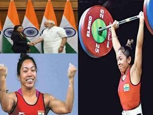 Olympic Tokyo 2020 India Sweightlifter Mirabai Chanu Wins Silver